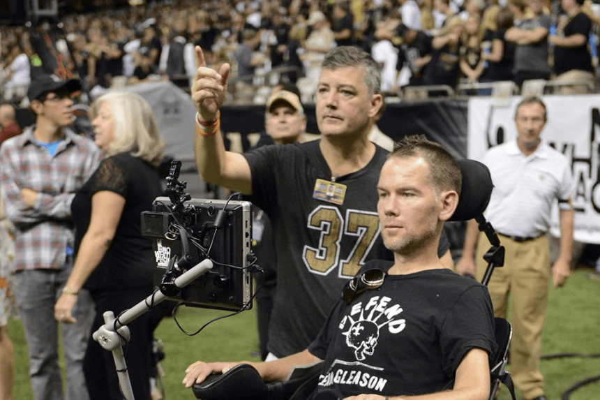 Steve Gleason's Battle Through Amyotrophic Lateral Sclerosis